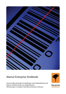 Mamut Enterprise Strekkode-1